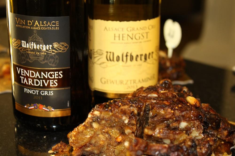vendanges tardives pinot gris 2011 wolfberger