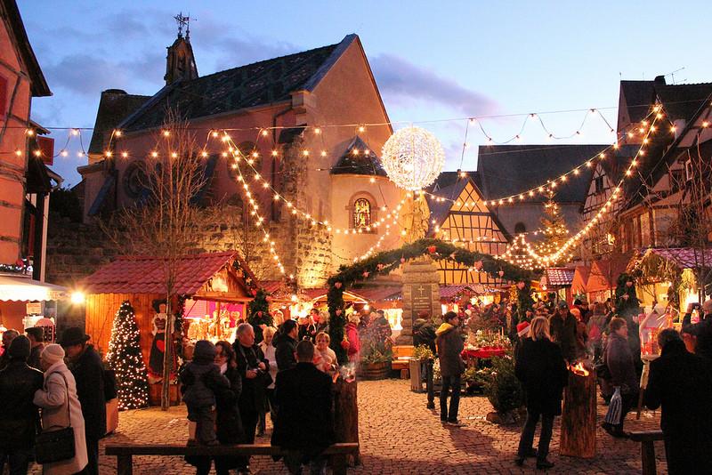 Marché de Noël - Eguisheim