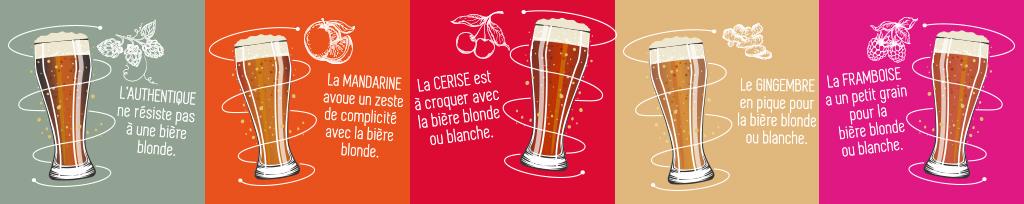Accords Amer et Bière